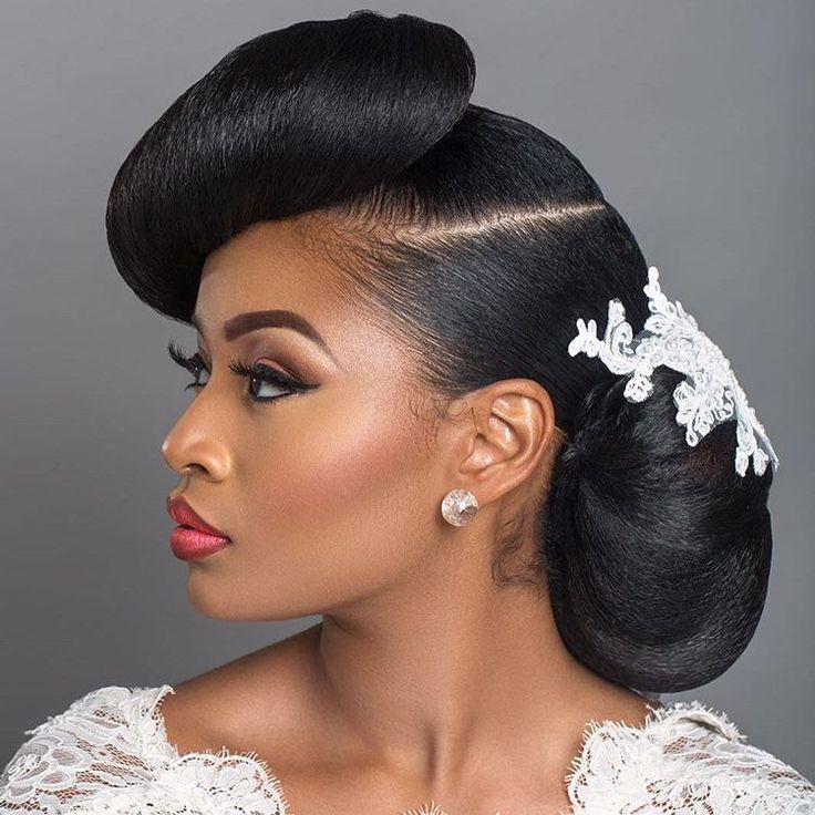 Wedding Hair Style Magazine: I Do Ways To Style Your Natural Hair For A Wedding