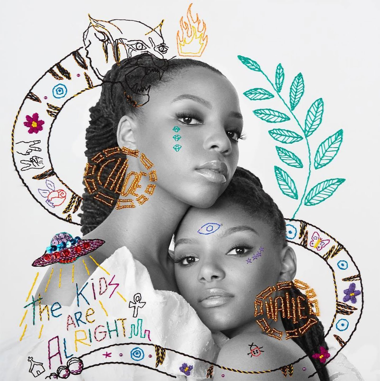 chloe x halle debut album the kids are alright eccentric glow. Black Bedroom Furniture Sets. Home Design Ideas