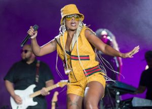 Legendary Mary J  Blige Wears Exclusive Dapper Dan × Gucci Outfits