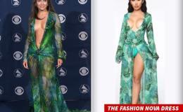 Versace Sues Fashion Nova Over  Jennifer Lopez Famous DressRip-Off
