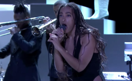 Solange's 9-Minute Medley Of 'When I Get Home' On 'The Tonight Show'